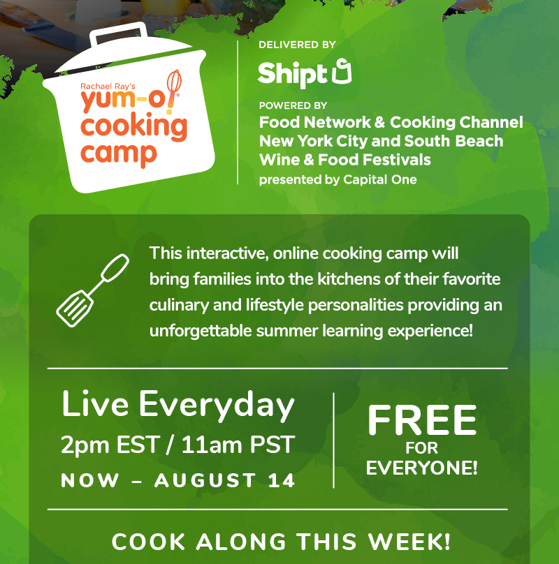 Yumo-o cooking camp Deliered by Shipt Live Everyday