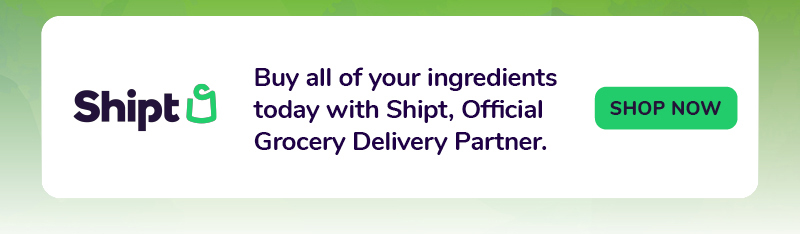 Buy all of your ingredients today with Shipt
